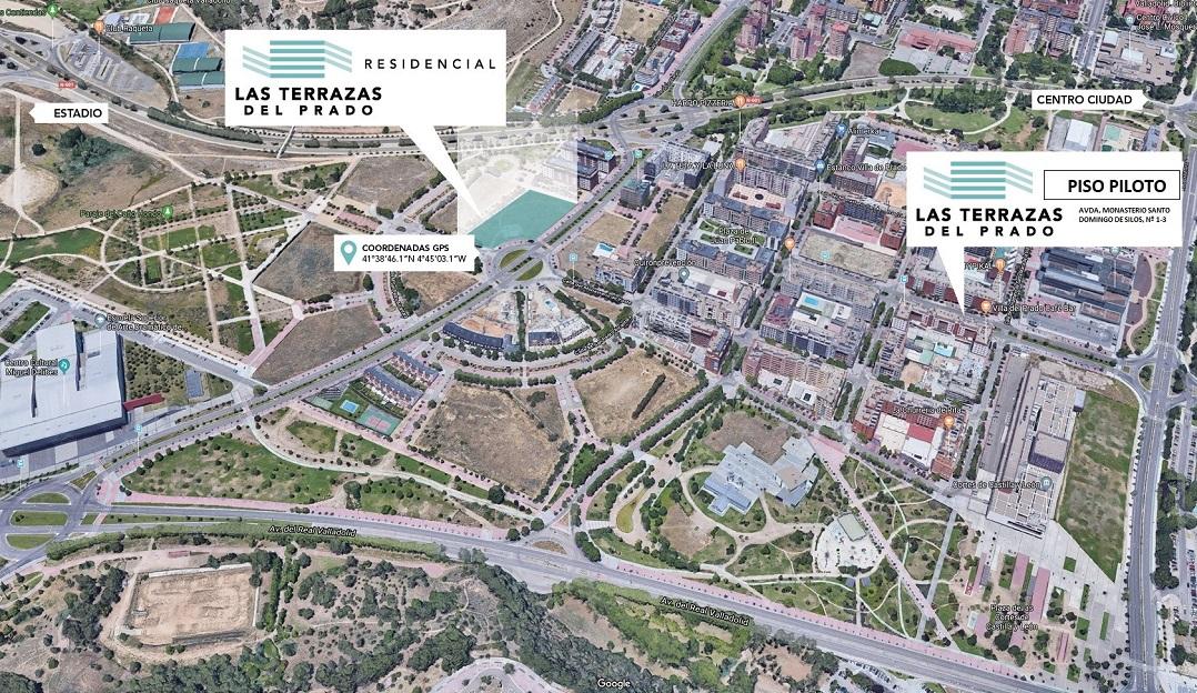 plano ubicacion piso piloto las terrazas del prado vallenova agencia inmobiliaria